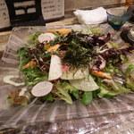 鯛の王様 - 鎌倉野菜のサラダ
