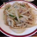 梅林餃子 - 豚肉と玉ねぎの生生姜焼き