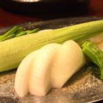 鳥づくし - 焼野菜