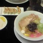 こだわり家 麺神 - 柚子塩ラーメン、餃子、ライス