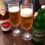ハノイのホイさん - サイゴンスペシャルで乾杯!
