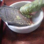 萩の茶屋 - 生山葵(自分ですります)