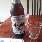 萩の茶屋 - アサヒスーパードライ大瓶