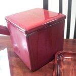 萩の茶屋 - そば湯