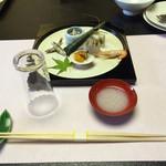 松田屋ホテル - 先づけ、前菜