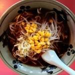 熊大路 - 料理写真:しょうゆらーめん650円