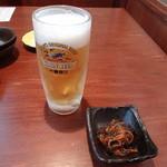 いなほ - 生ビール&お通し 520円