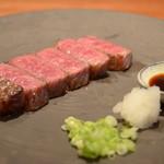 昌平 - 料理写真:こだわりの黒毛和牛。甘みと旨みをお楽しみください。