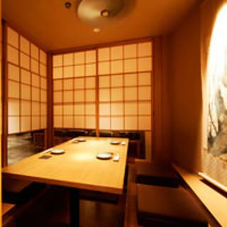 接待・会食・宴会などのご利用に…個室もお勧めです。