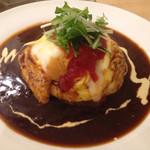 Brunch cafe LAPIN - ブランチセット ふわとろオムライス