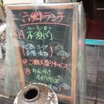gyouzashukakouran - メニュー