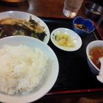 gyouzashukakouran - 木須肉定食