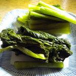 2675473 - 野沢菜は取り放題でしたが美味しかったです