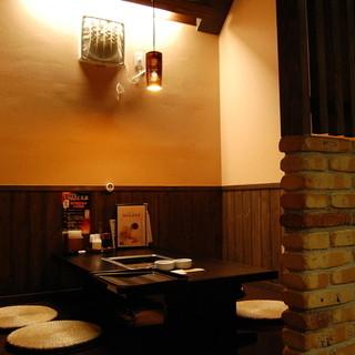 和風モダンの店内で極上焼肉を♪お子様連れも安心です!