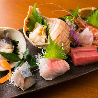 食材王国みやぎ!新鮮な魚貝類を味わえる本格和食店!