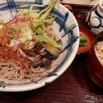 26753517 - 肉味噌ピリ辛冷やし蕎麦