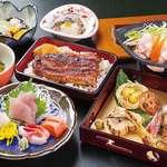 うなぎの宿 住吉 - 料理写真:宴会料理コース4,500円の一例です
