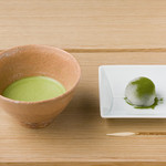 つぼ市製茶本舗 - 抹茶(和菓子付き)
