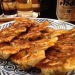 吉風 - 餃子20個&ビール