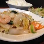 香琳園 - 八宝菜定食の八宝菜