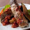 リックスカフェ - 料理写真:直火で炙ったスペアリブ 旬のフルーツソース