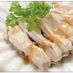祥瑞楼 - 蒸し鶏
