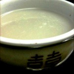 koreAn diNing GOMAmura - 乳酸菌とイソフラボンのコラボ。ヘルシー「黒豆のマッコリ」