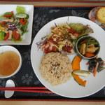 cafe holoholo - 料理写真:ランチA、チキン