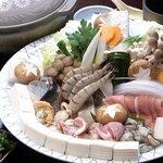 豆仙坊 - 料理写真:豆乳寄せ鍋
