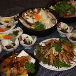 魚菜お花 -