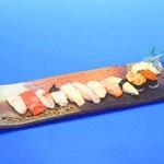 北の味心竹ちゃん - 極上にぎり寿司11貫