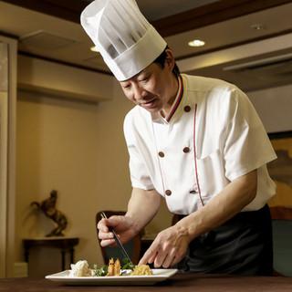 本場中国で数々のコンテストで優勝した凄腕の料理人