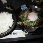カサブランカ - 海鮮ユッケ+ご飯