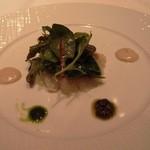 26764943 - 沖縄県産鮮魚のマリネ                       じゃがいものエクラセ                       サラダと共に