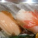竹鮨 - アワビ・南蛮海老