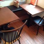 ペレソッソ - 2階はテーブル4席