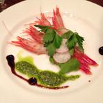 ペレソッソ - 魚のカルパッチョ