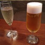 ペレソッソ - スパークリングと生ビール