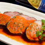 カヤバル - 鴨肉のポワレ