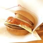 モスバーガー - 新商品プレミアム*\(^o^)/* モスいただきました コッテリチーズと玉ねぎAND