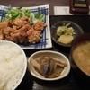 食堂 一(いち) - 料理写真:鶏唐定食 540円 H26.4