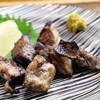 炭火焼鳥 戯屋 - 料理写真:必ず食べて欲しい一品‼︎地頭鶏のあぶりです