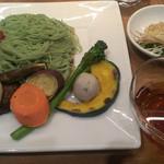 SHIKOKU バル 88屋 - 9種類の焼き野菜つけめん