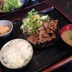 ポトス - 生姜焼き定食w