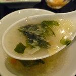 美食天地 遙華 - ☆あれれ…スープは少し温度帯が低かったかも☆