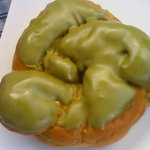 松本屋製パン所 - 抹茶林檎パン