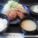 26774444 - コンビランチ(ロース&ヒレ)1,026円