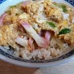 魚幾食堂 - 玉子丼 500円