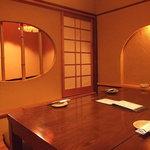 遊食屋 - 2階 茶室風個室 4名様~8名様位までご利用頂けます。