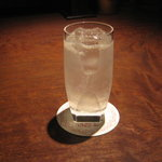 Bar Palme dor - 「ジンフィズ」です。